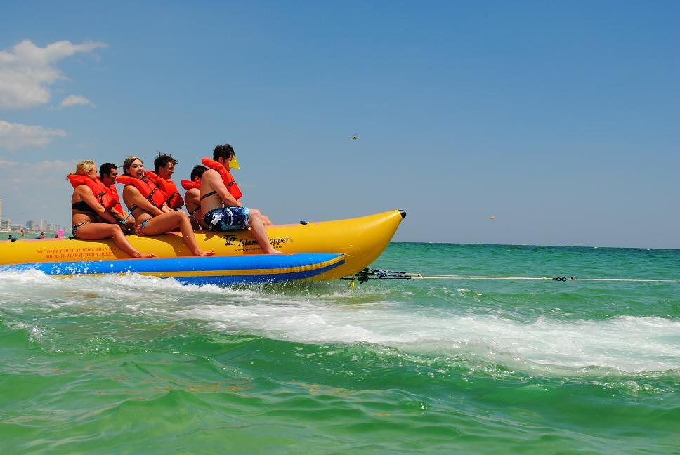 Panama City Beach Banana Boat Rides Tripshock