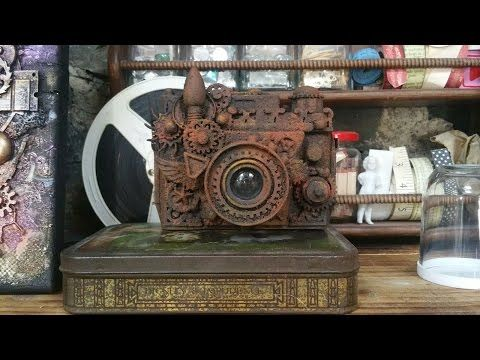 All About Rust Paste - Instant Vintage: Altered Camera - YouTube