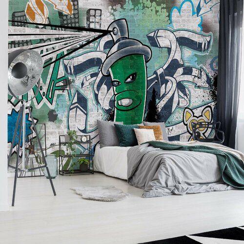 Brayden Studio Seidenmatte Fototapete Teagan 3,68 m x 254 cm   Wayfair.de