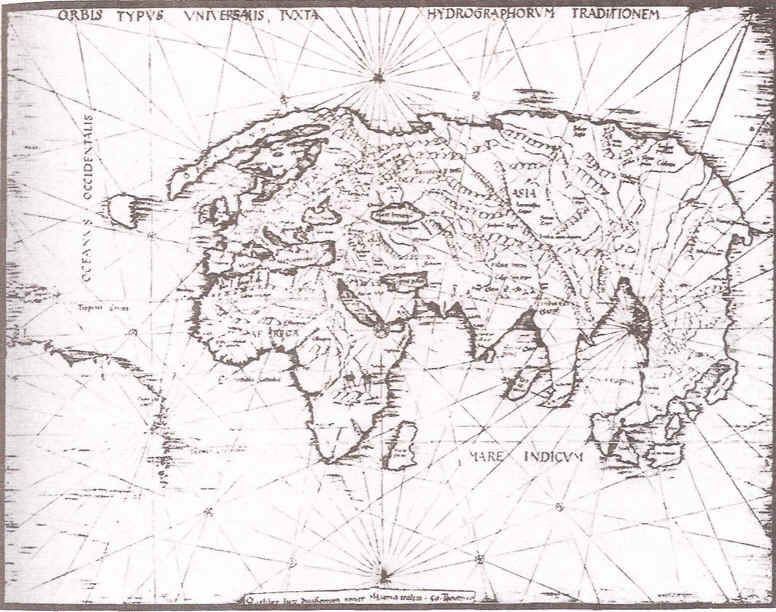 Artesania Tradicional Toledana Cristobal Colon Antes De 1492 Map Male Sketch History