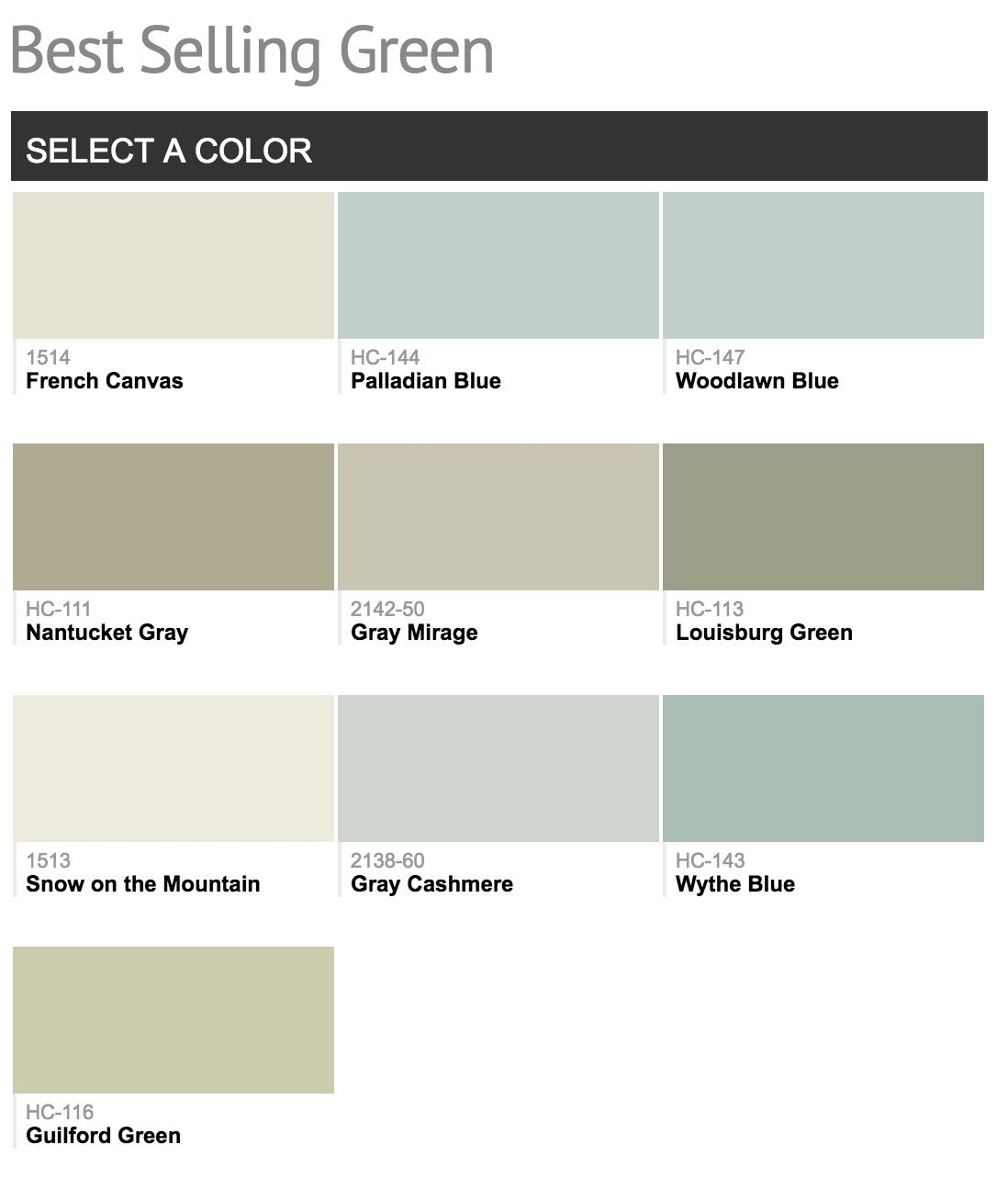 Top Selling Hallway Paint Colors