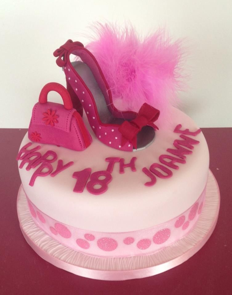 Pink And Girly Birthday Cake Party Time In 2018 Pinterest Cake