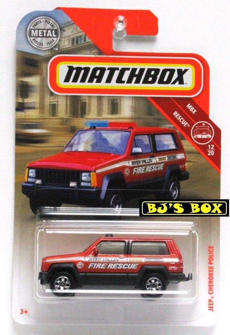 Matchbox Jeep Cherokee Police