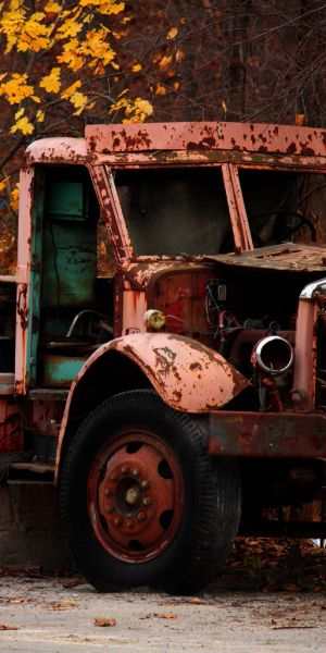 "#Camion ""rustique 