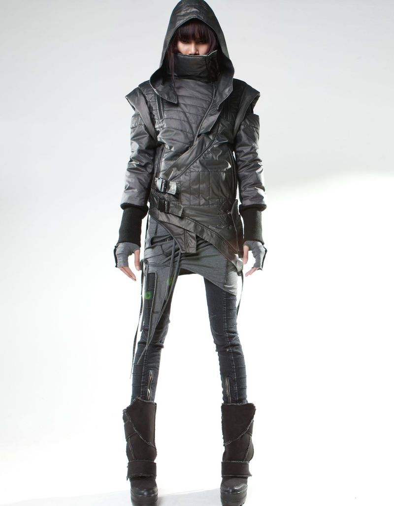 Post-Apocalyptic Leather Ensembles | Cyberpunk