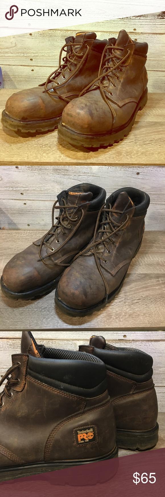 Timberland Pro Steel Toe Work Boots men