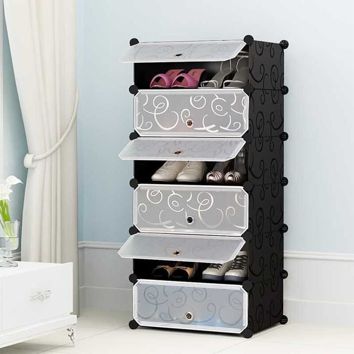 Shoe Cabinet Cabinet 6 Cubes – Modular Storage …