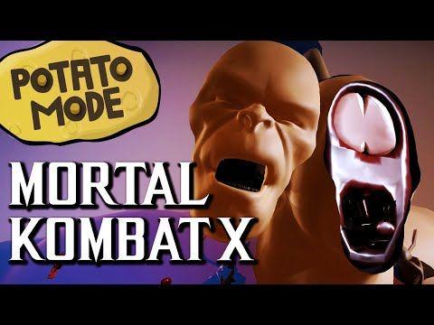 Mortal Kombat X's Ultra-Low Graphics Get Family Friendly | Tech News