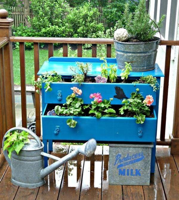 garten-möbel kommode-für blumentöpfe-terrasse | balkon & garten,