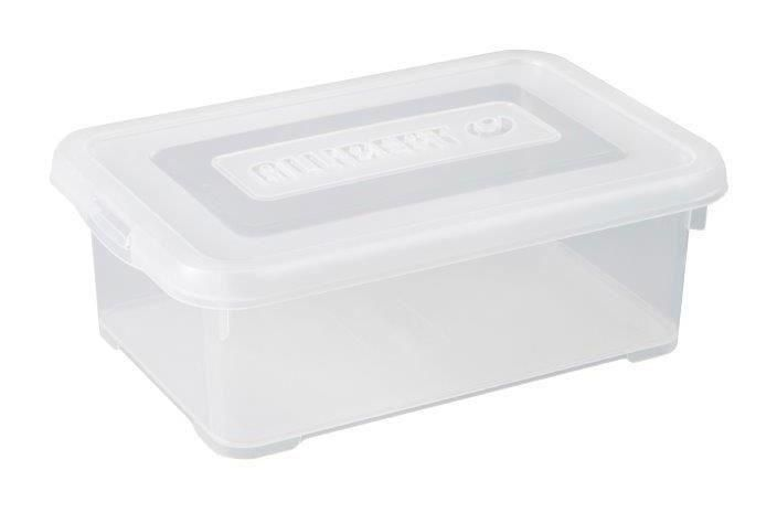 Allibert Boite De Rangement Handy Couvercle Transparent 4 L 673100 Allibert Boite En 2020 Bac De Rangement Boite De Rangement Rangement