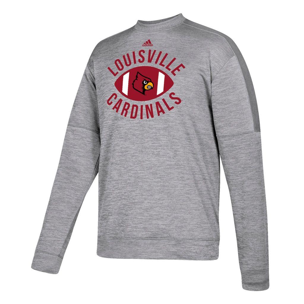 adidas Men/'s NCAA Louisville Cardinals Long Sleeve Training Hoodie Medium