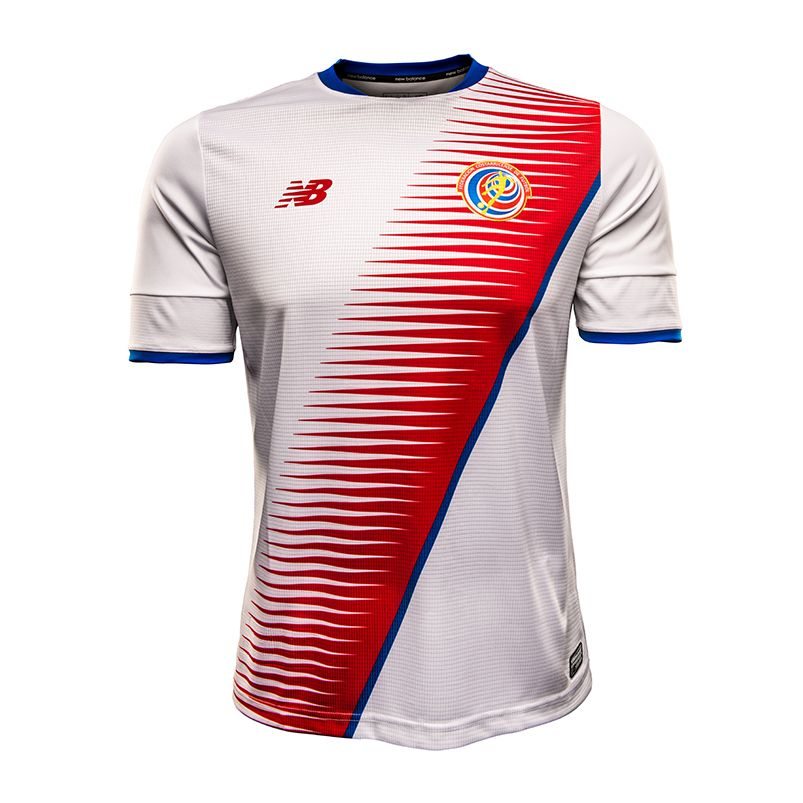 Costa Rica National Team Home And Away Jerseys.