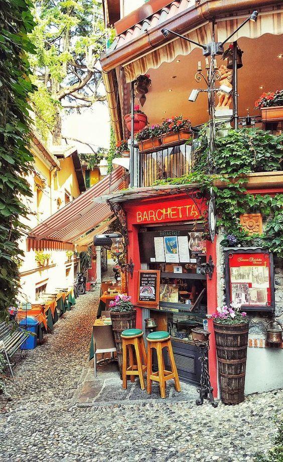 Ristorante Terrazza Barchetta - Bellagio, Como, Italy | Bucket ...