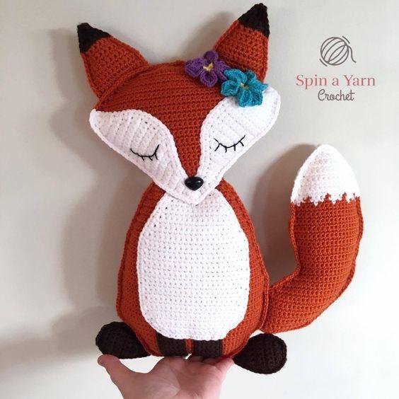 Ragdoll Fox Free Crochet Pattern   Free pattern, Foxes and Patterns