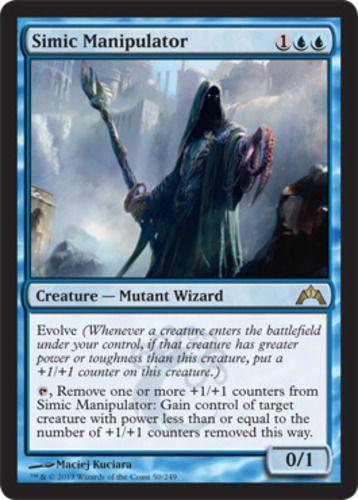 GTC Gatecrash Blue Uncommon 4x MTG: Simic Fluxmage Magic Card
