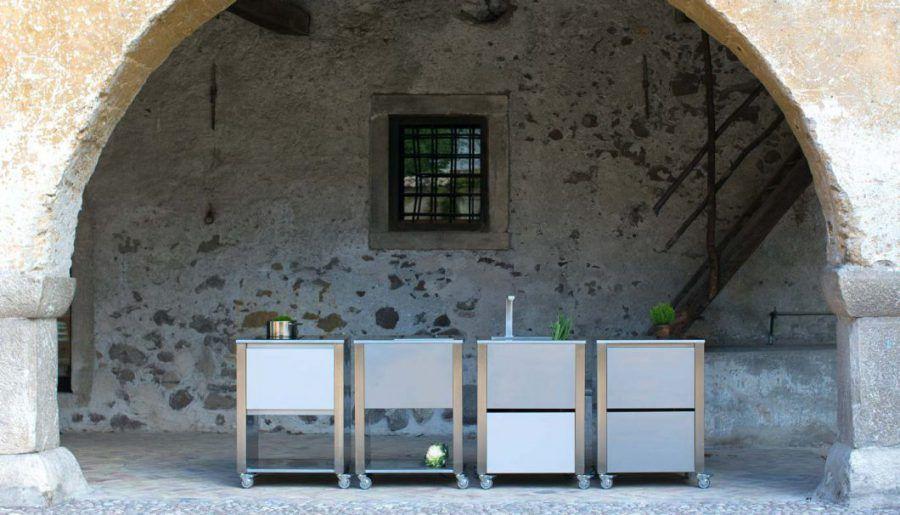 Jokodomus\u0027 Outdoor-Küchen lassen sich als einzelne Küchenmodule - edelstahl outdoor küche