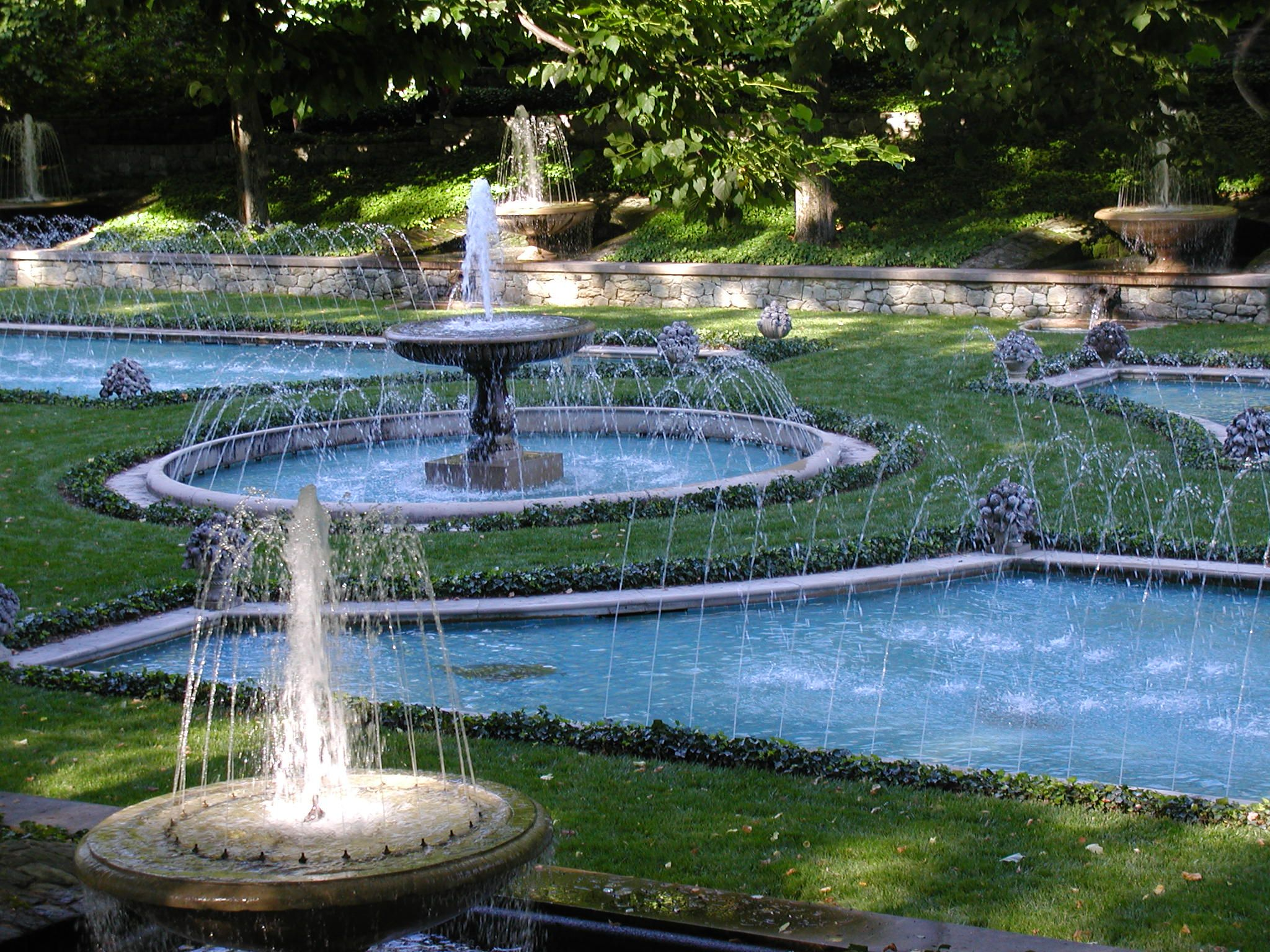 Outdoor Water Fountains | Duponts of the Brandywine Valley – Part ...