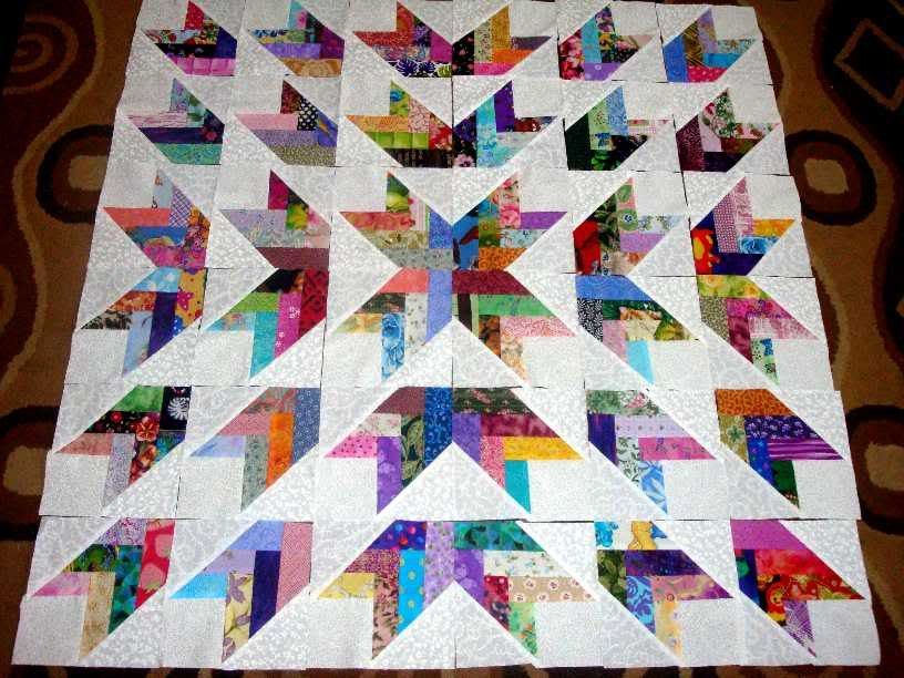 I have a bunch of strips put together for a quilt but i like this ... : how to put together a quilt - Adamdwight.com