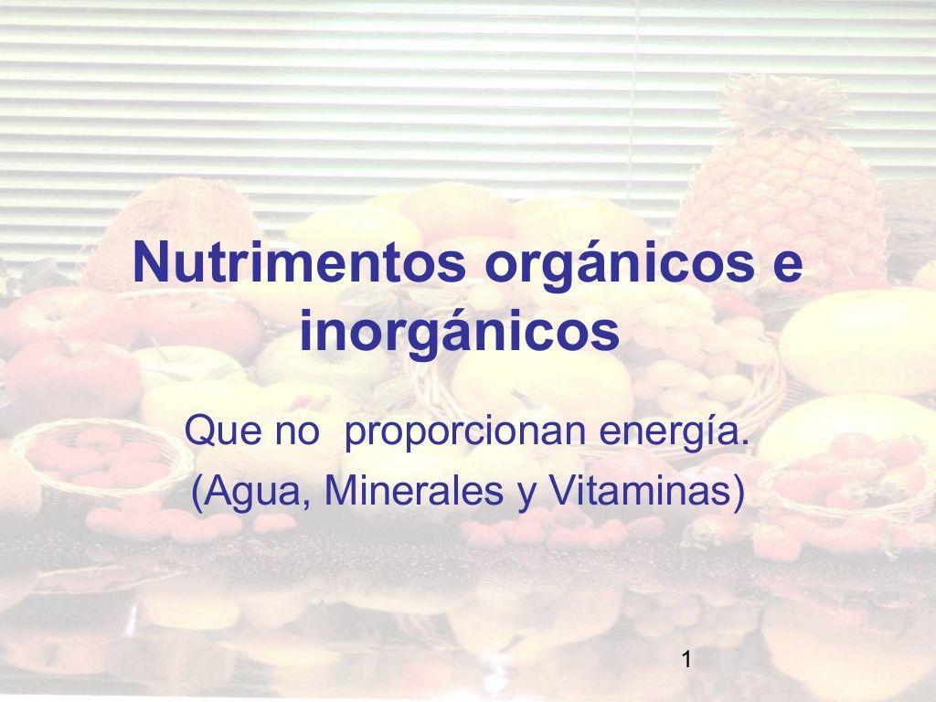 minerales-y-vitaminas by Nann Luna via Slideshare