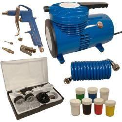 Photo of Compresor de aerógrafo Mauk, sin aceite, incluidos los colores, bajo ruido Mauk