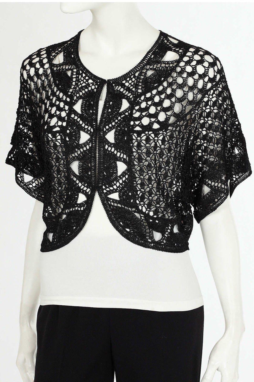 Crinochet: Elegant Lace Bolero | Болеро | Pinterest