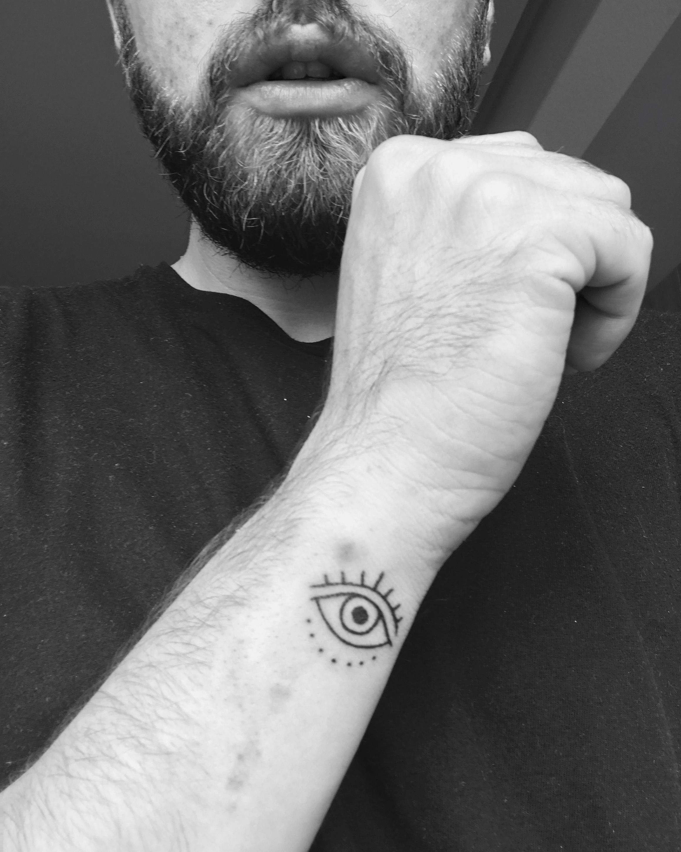 e9237f8e2 Just got this Evil Eye Tattoo | • i n k • | Eye tattoo meaning ...
