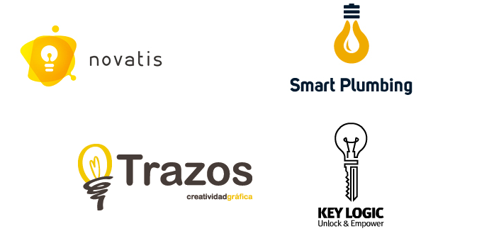 The Logo Design Series Is Up And Running Last Week We Had Post About Logos With Sharks Today Its All Light Bulbs