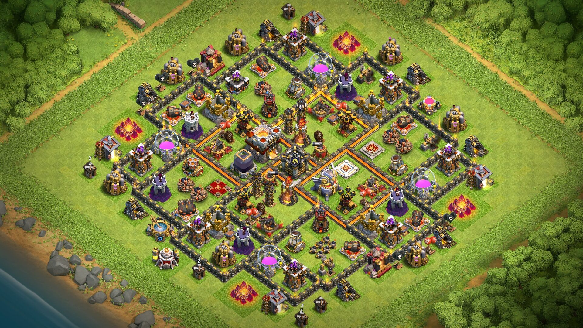 New Best Th11 Strong Defensive Legend Base 2018 | th11 ...  New Best Th11 S...