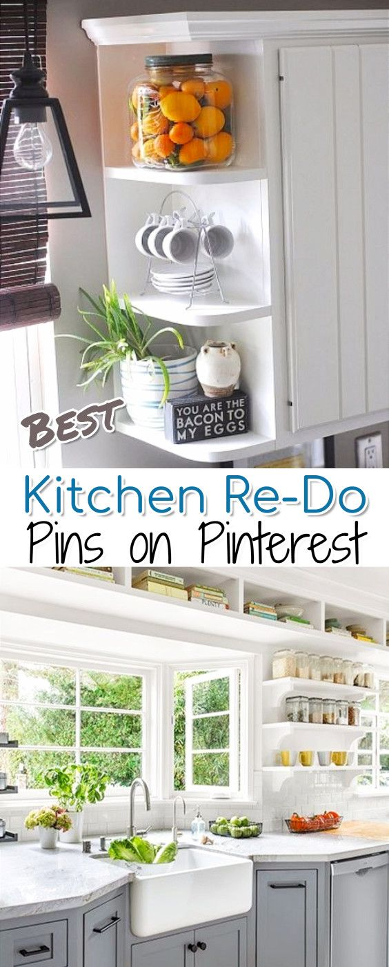 Best Kitchen ReDo Ideas On Pinterest   If Youu0027re Wanting To Redecorate Your  Kitchen