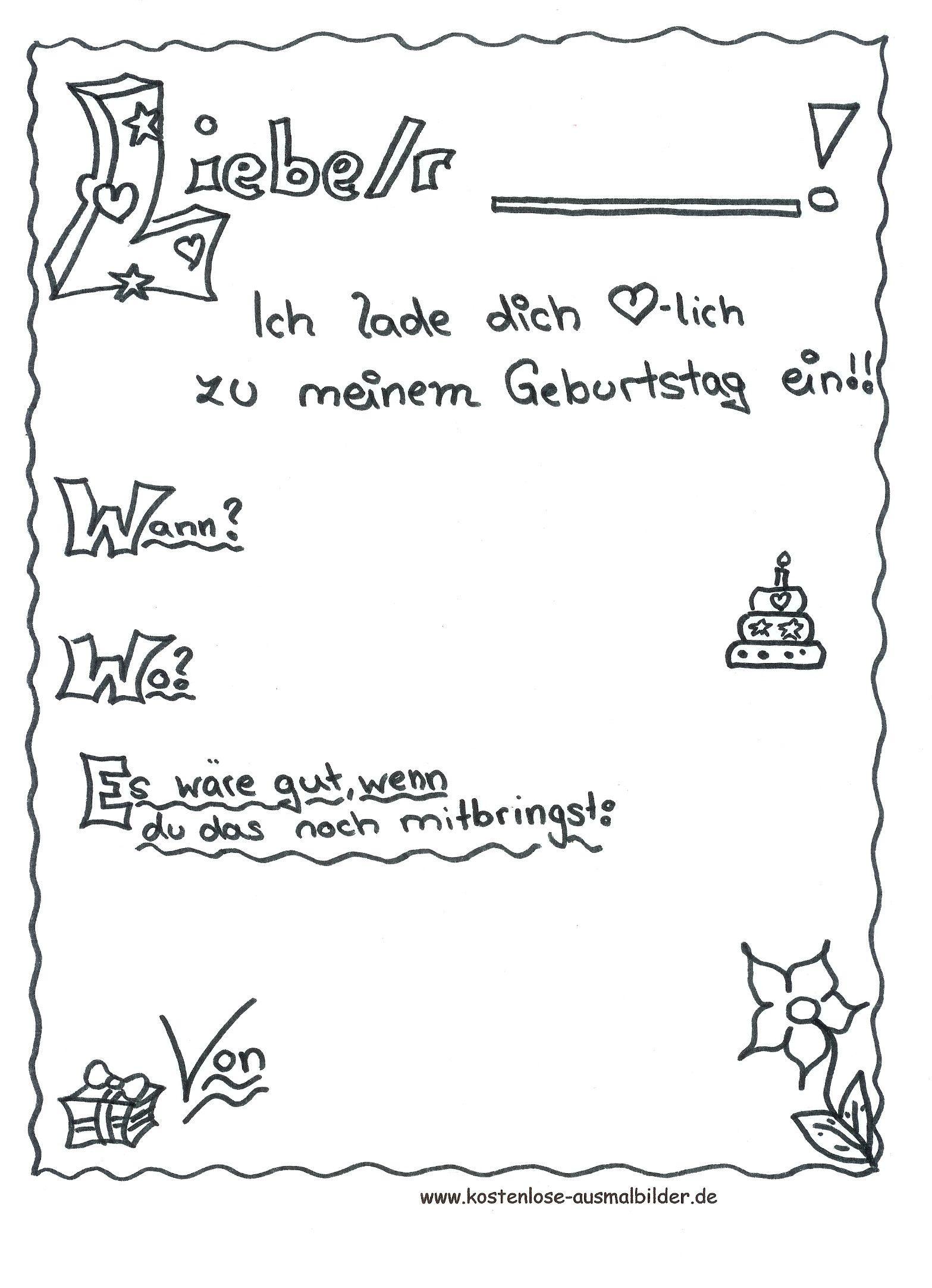 Einladungskarten Geburtstag Gratis Vorlagen Lovely Einladungskarten Zum Geburtstag Mit Bildern Einladungskarten Geburtstag Kostenlos Einladungen Geburtstag Kostenlos Geburtstagseinladungen Zum Ausdrucken