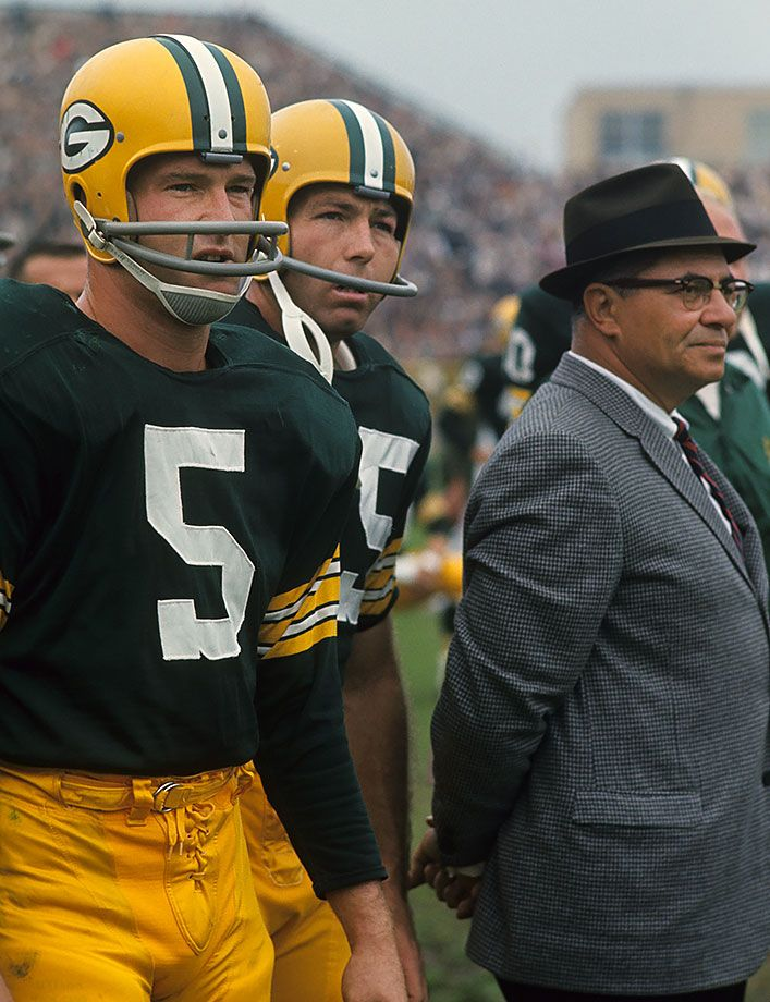 Image result for bart starr vince lombardi paul hornung