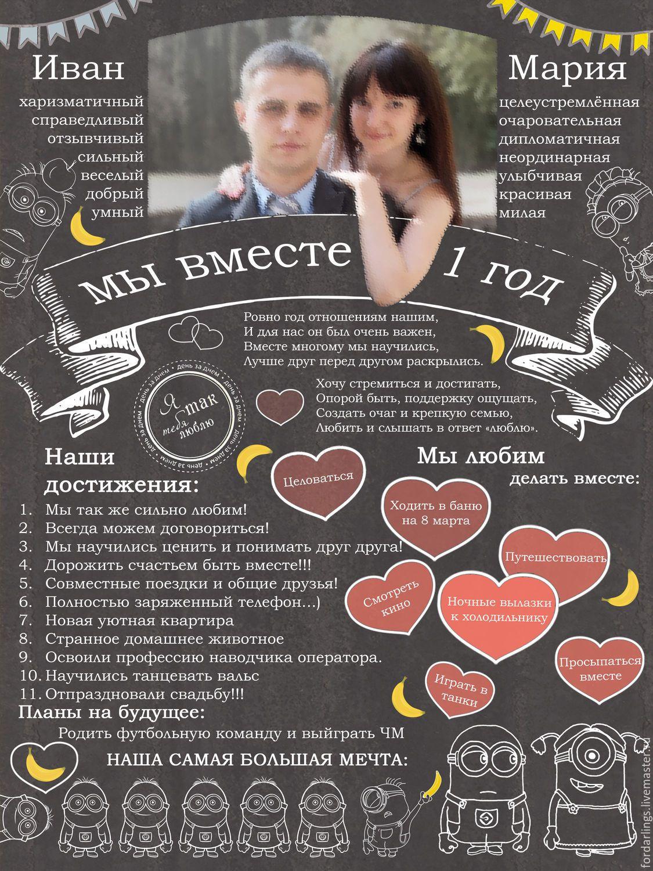 Плакат из фото на юбилей своими руками фото