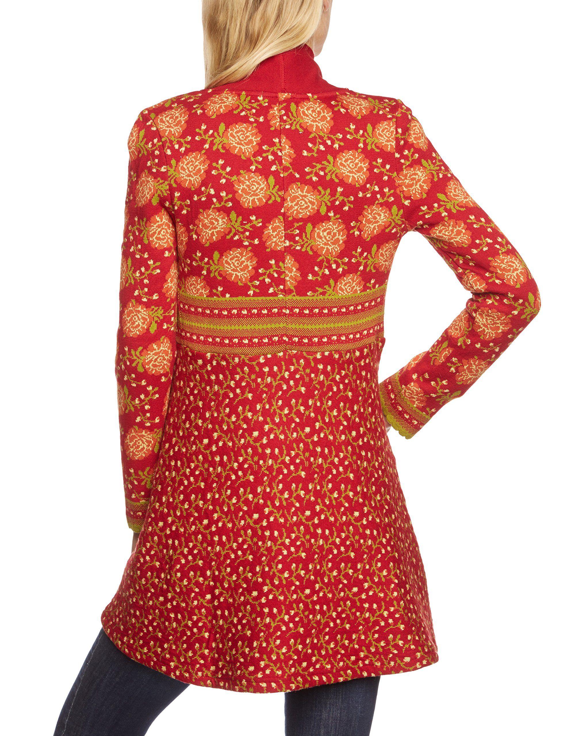 Lana natural wear Damen Strickjacke Jolina lang: