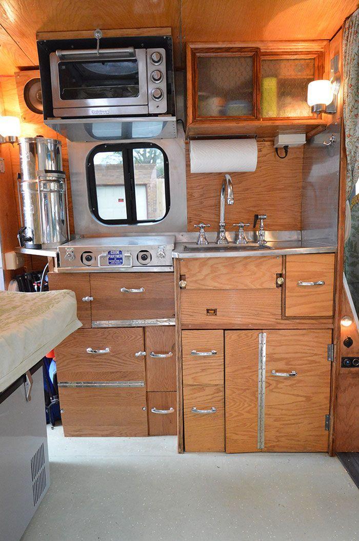 Image Result For Diy Refrigerator Camper Van