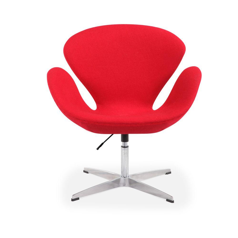 sleek, elegant style and retro-inspired design highlight this swan
