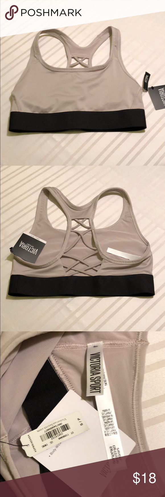 Nwt vsx strappy racerback sports bra brand new with tags according to the size chart also rh pinterest