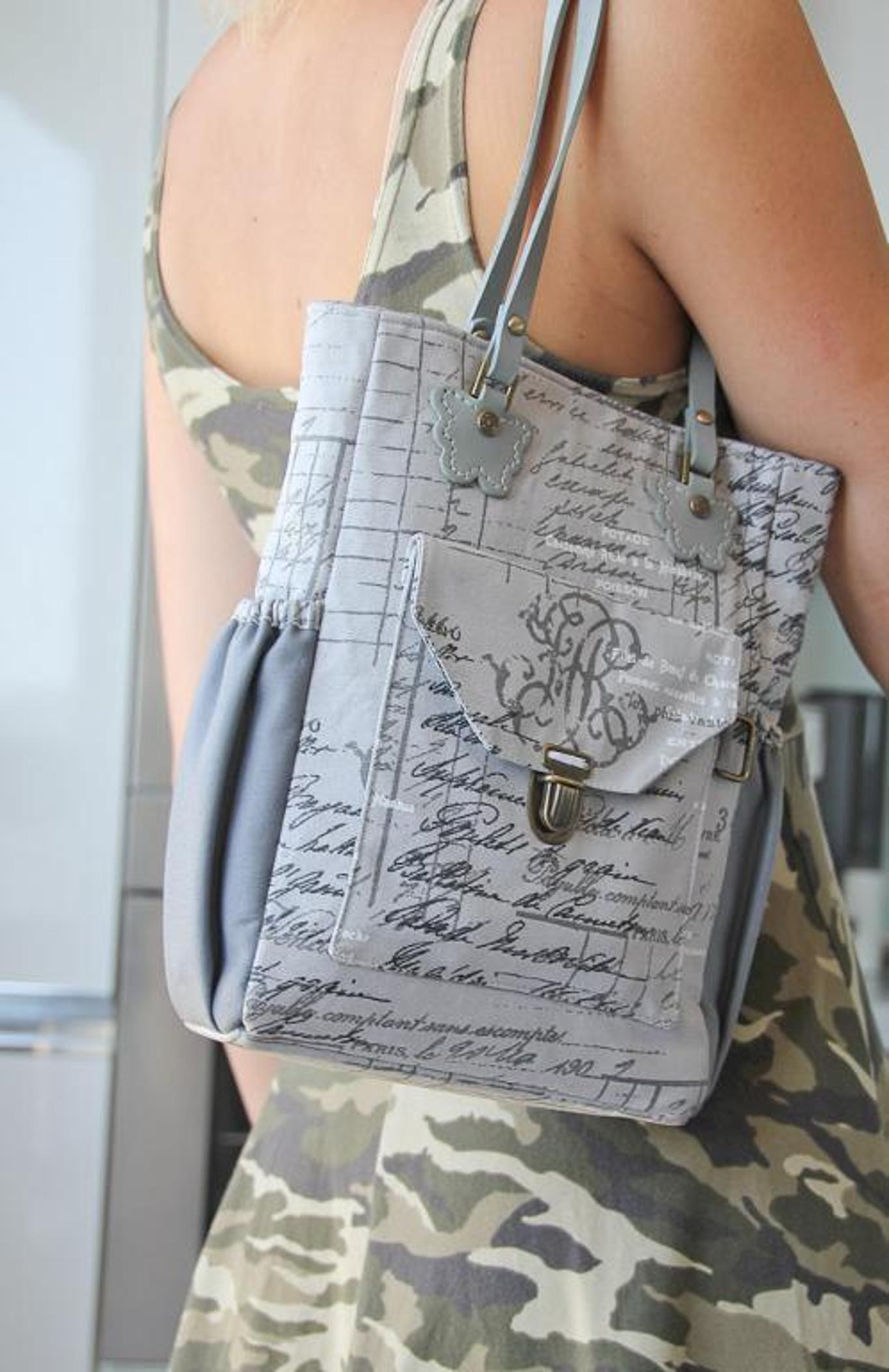 The Bia Bag – FREE Pattern (Sewing 4 Free) | Nähen, Taschen nähen ...