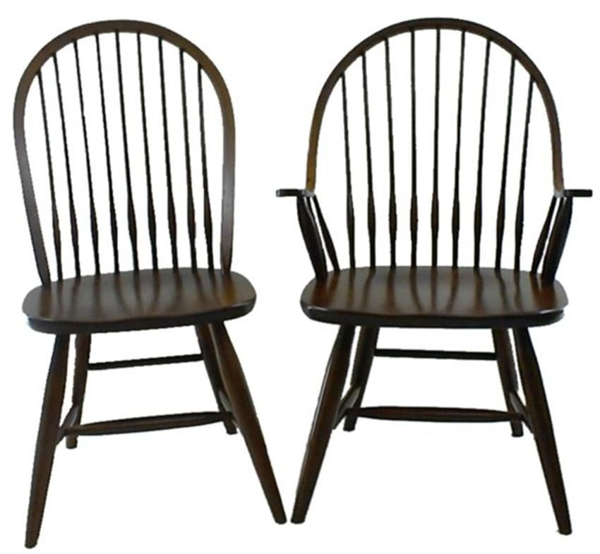 Early American Windsor Chair Amish Made 4510