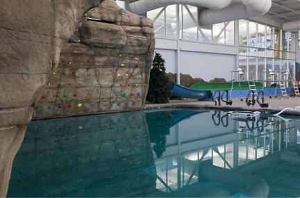 provo city recreation center swimming pool deep water pool with climbing wall other amenities