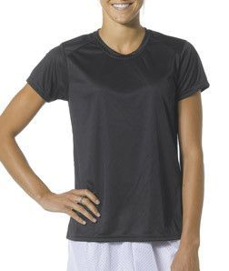 A4 Cooling Performance Crew Nw3201 Black Black Mens Tops Lady