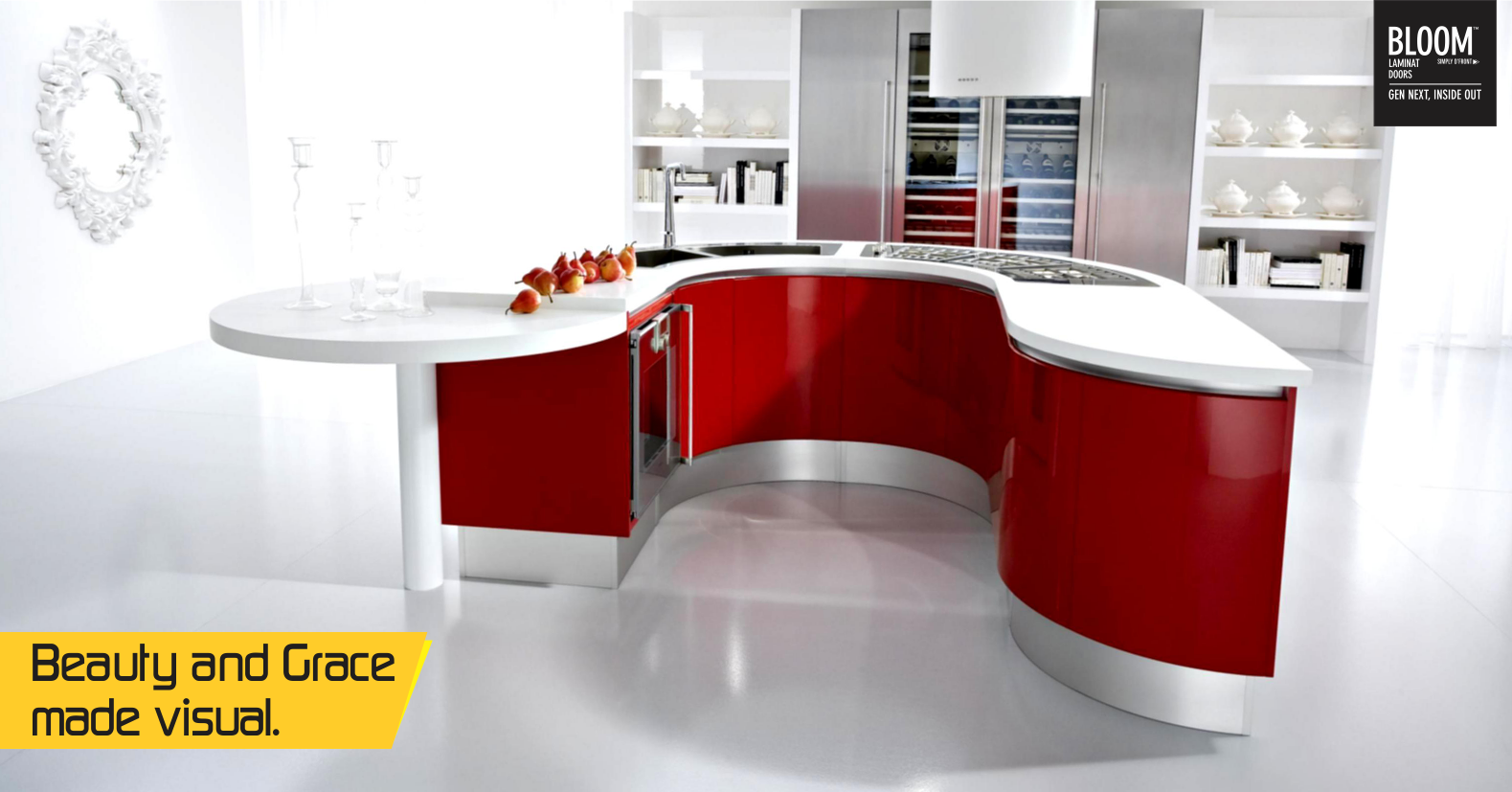 A Good Looking Kitchen Makes A Happy Woman. Make Your Kitchen A Pretty  Corner