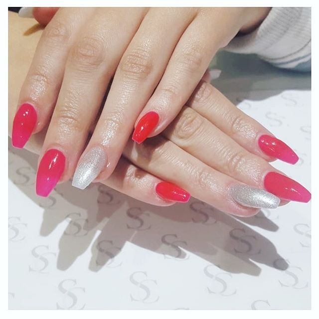 Acrylic Nail Extensions give you strength and length   Need we say