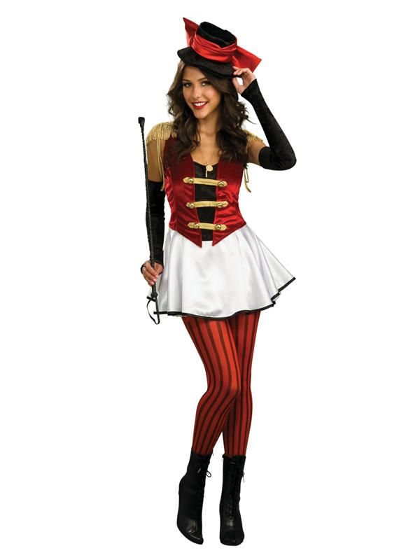 Adult Ringmistress Fancy Dress Circus Party Costume STD