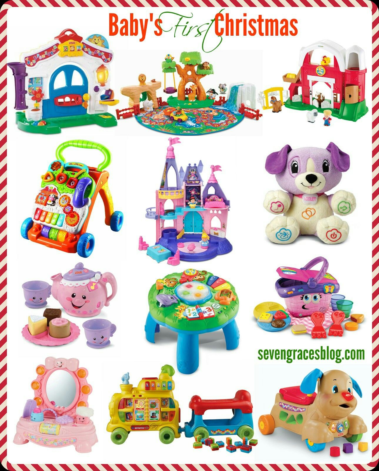 Christmas Gifts For Baby 10 Year Old Presents Babys 1st Last