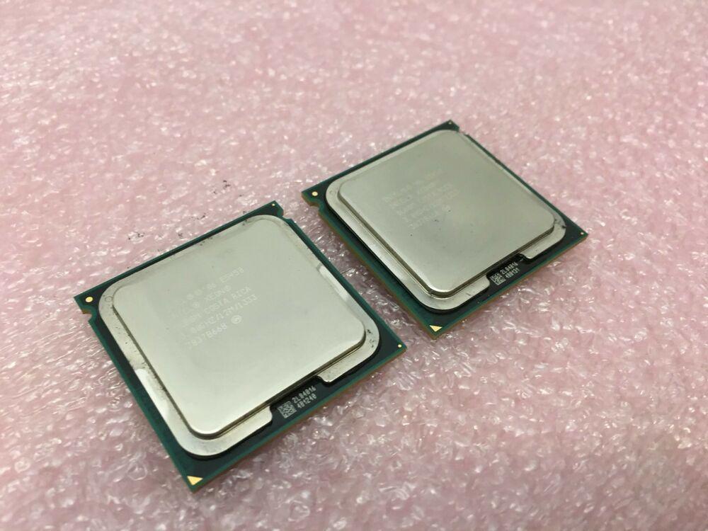 Lot of 2 Intel Xeon E5450 3 00GHz/12M/1333 CPU Processor