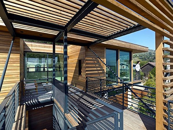 Elegant Metallic Structure Houses, Designs, Plans And Pictures