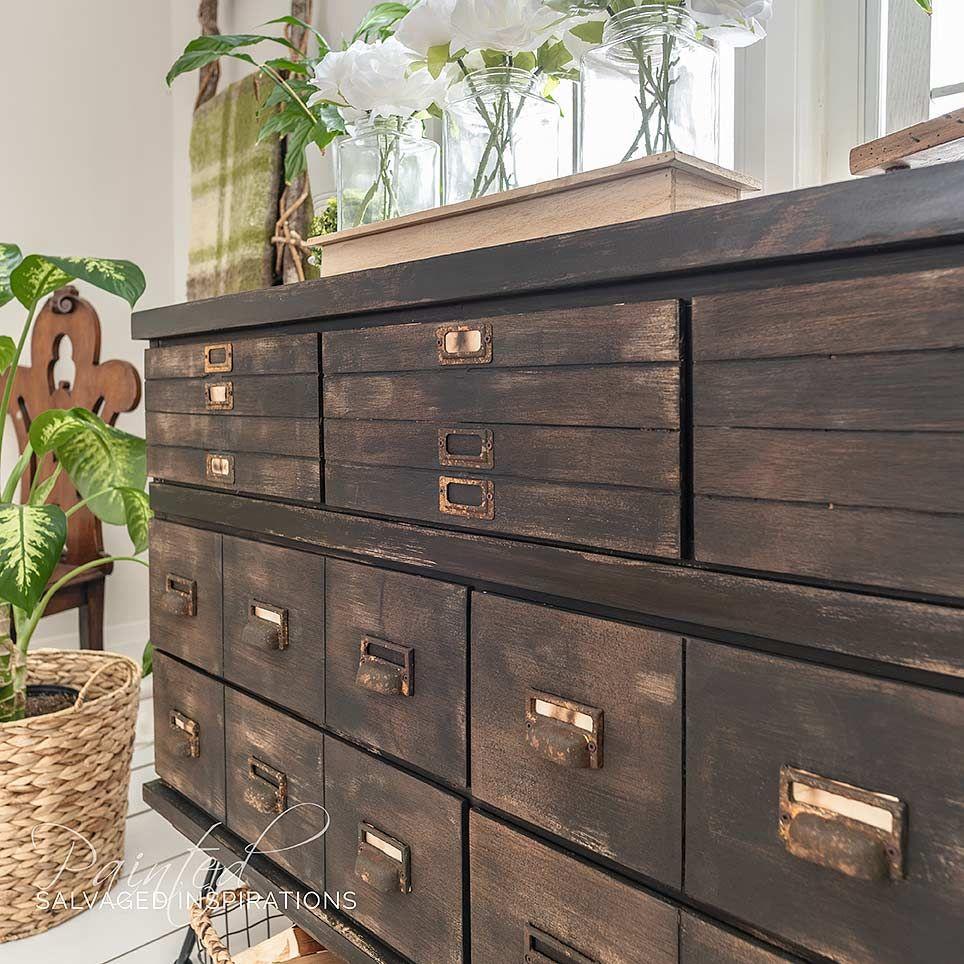 DIY Faux Drawers | Antique kitchen, Antique cabinets ...
