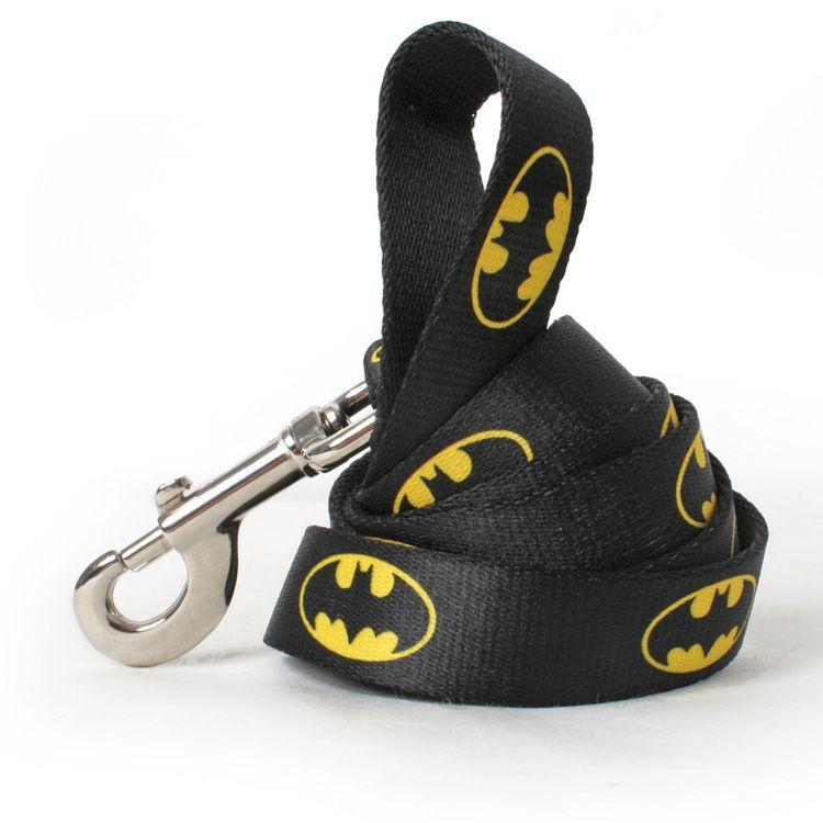Batman matching leash