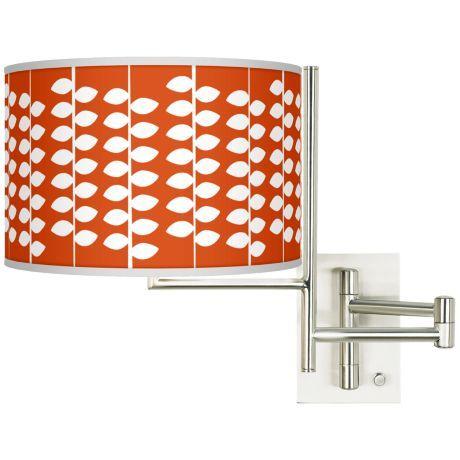 Tempo Hi Fi Plug-In Swing Arm Wall Light