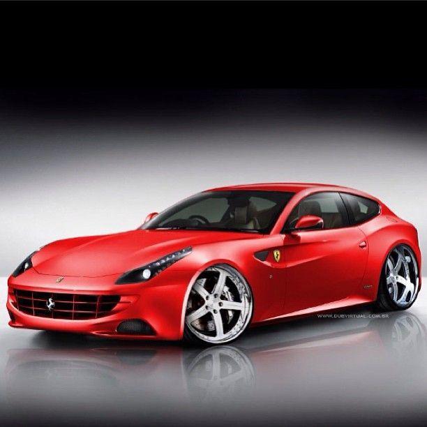 2013 Ferrari FF In The Gorgeous Iconic Ferrari Cherry Red
